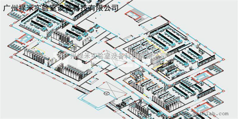 禄米供应实验室家具 中央实验台 LUMI-SYS001A