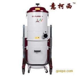 进口380V真空设备工业吸尘器FOX5.5P大量粉尘颗粒