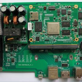 双视频输出型高清视频和数据综合采集设备控制板