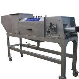 耗能低海带螺旋压榨机椰肉螺旋榨汁机畅销全国