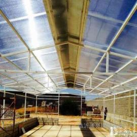 双层多层阳光板单层耐力板玻璃钢透明采光瓦温室大棚专用