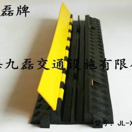 橡胶二孔线槽板,九磊牌JL-XCB-2CA橡胶线槽板,二槽橡胶线槽板