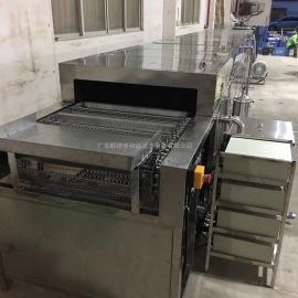 通过式超声波清洗机 佛山 冲压铝件洗油污清洗烘干线厂家定制