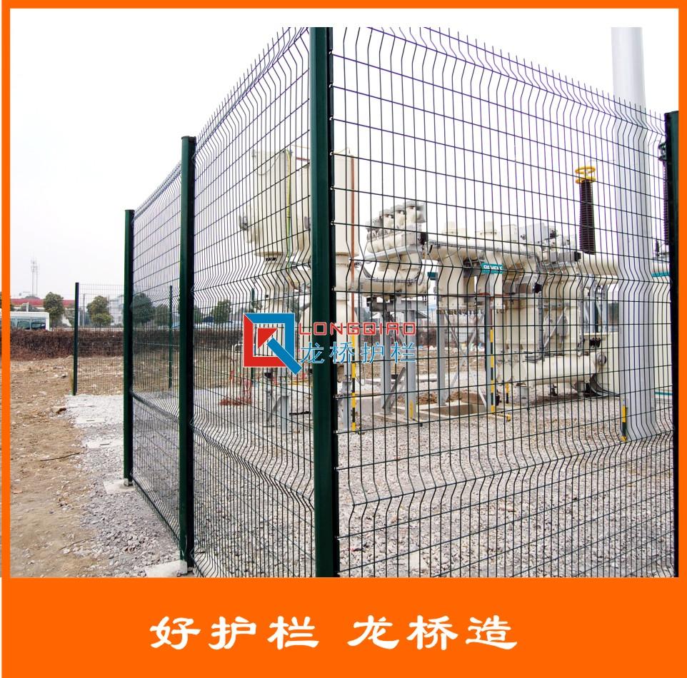 苏州镀锌喷塑护栏网 小区 厂区 围墙护栏网 龙桥厂家直销