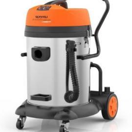 亿力吸尘器YLW72-60升不锈钢桶双马达商用吸尘吸水机