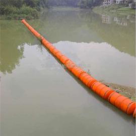 抽沙船浮筒 管道拦污浮体疏浚浮体 塑料水上浮筒水上浮球