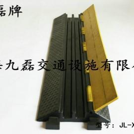 橡胶二孔过桥板,九磊牌JL-XCB-2CB橡胶过桥板,二槽橡胶过桥板