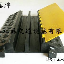 橡胶二孔护线板,九磊牌JL-XCB-2CE橡胶护线板,二槽橡胶护线板