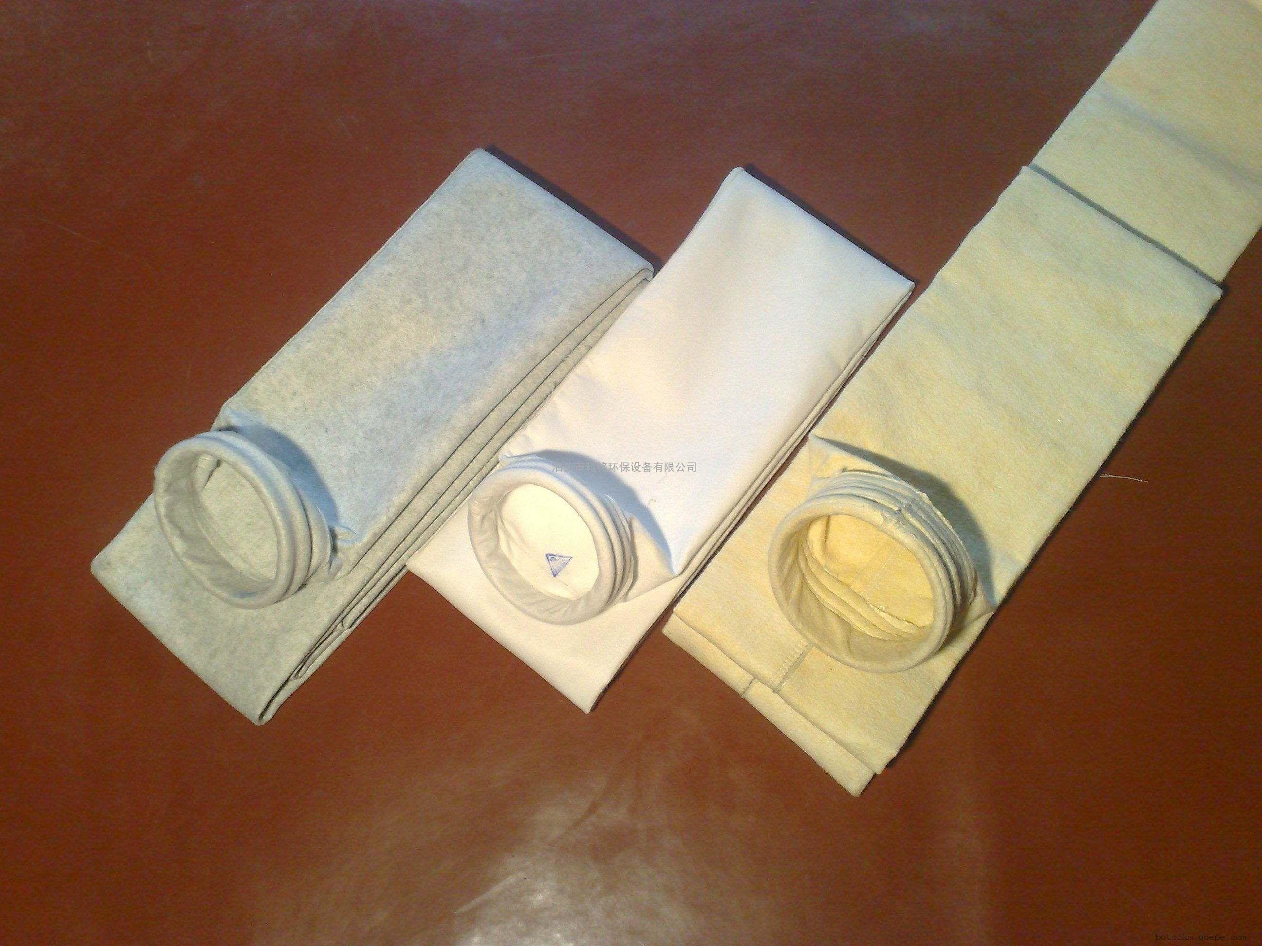 厂家直供涤纶针刺毡覆膜除尘布袋PTFE覆膜过滤袋