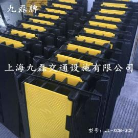 橡胶三孔护线板,九磊牌JL-XCB-3CE电缆护线板,三槽电缆护线板