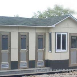 海南玻璃钢移动厕所