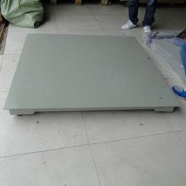 单层3吨电子地磅参数 3吨带打印平台秤价格是多少