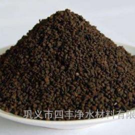 锰砂滤料价格///除铁除锰水处理用锰砂滤料厂家