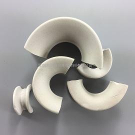 38mm陶瓷填料矩鞍环洗涤塔冷却塔填料高效率通量大
