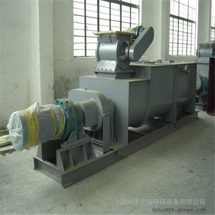双轴粉尘加湿机型号SJ 双轴搅拌加湿机厂家 卧式粉尘加湿机系列