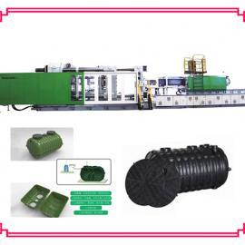 塑料化粪池设备 塑料化粪池专用注塑机 三格式化粪池生产设备