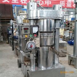 立式全自动液压榨油机 300型韩式快速液压香油机