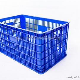 (PE材质)大型塑料周转筐厂家供应商