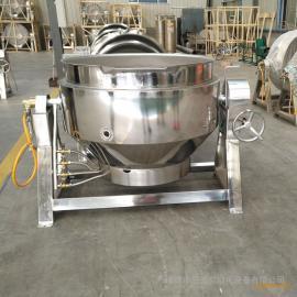 三誉酱驴肉蒸煮锅 不锈钢燃气加热夹层锅 卤煮锅厂家