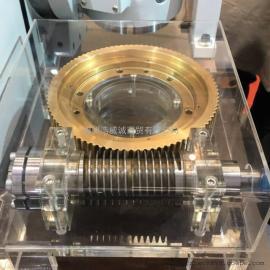 台湾宝嘉诚 分度盘MNC-320R 高精密涡轮蜗杆