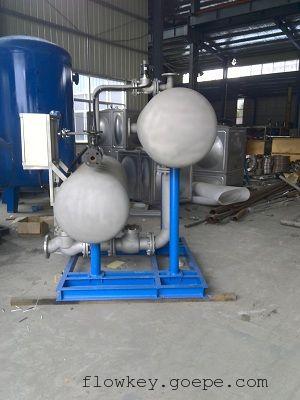 蒸汽冷凝水回收装置工作原理