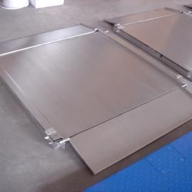 连电脑不锈钢电子地磅 3吨不锈钢地秤可拆洗带打印