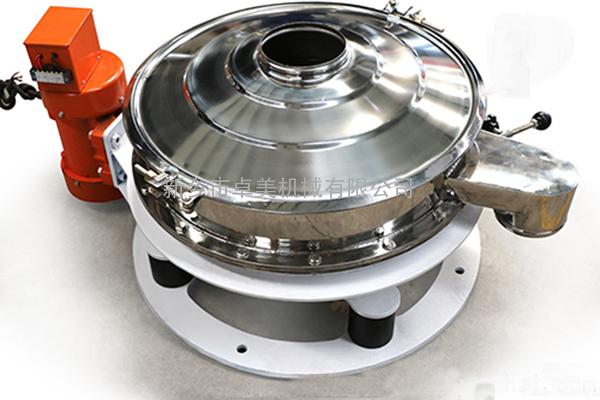 红薯粉筛分设备;红薯粉振动筛;不粘网振动筛;自动清洗振动筛