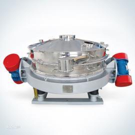 土豆粉筛分设备;土豆粉振动筛;不粘网振动筛;自动清洗振动筛