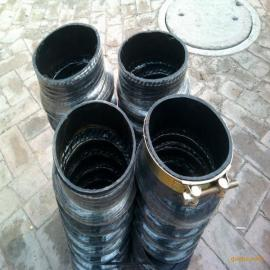 河北厂家供应伸缩胶管 黑色橡胶伸缩管 大口径橡胶伸缩波纹管