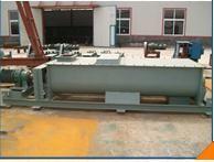 宏瑞SJ-40双轴粉尘加湿机系列 双螺旋叶片搅拌强制搅拌高效混合
