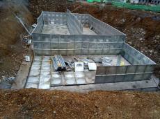 不锈钢水箱304消防水箱 组合式拼装水箱定做地埋箱泵一体化