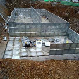 不�P�水箱304消防水箱 �M合式拼�b水箱定做地埋箱泵一�w化