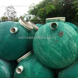 中山玻璃钢化粪池,隔油池,储罐厂家