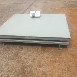 3*3.3米打印电子地磅 5吨双层地秤定制