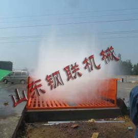 施工工地用标准洗车机 建筑大门口洗车台厂家