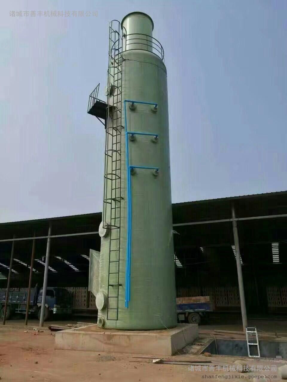武汉烟气脱硫塔厂家直销、脱硫过程化学反应原理(双碱法)