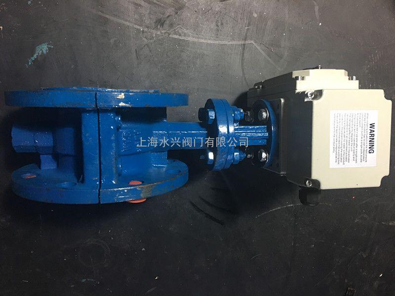 d941f46-16c智能调节型法兰式电动衬氟蝶阀图片