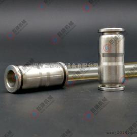 厂家批发不锈钢快插直通 PU不锈钢快插直通 304快插直通