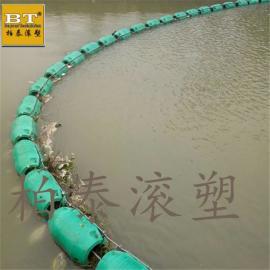 三�{水�熘��1米抱箍�M合式�站�r污浮排施工安�b