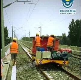 轨道搬运车工厂转运设备机械轨道行车可定制帕菲特厂家直销