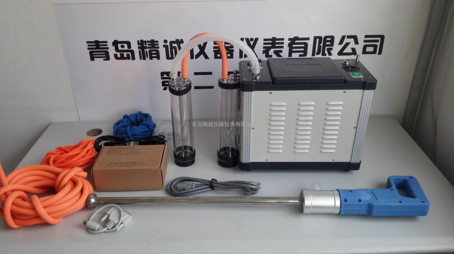 烟囱、锅炉、管道烟尘颗粒物、SO2,NOx检测JH-60E烟尘烟气测试仪