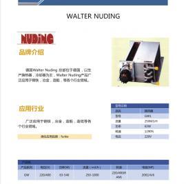德国Walter Nuding 500/480/2R/LA 2.5 进口热交换器 货期短