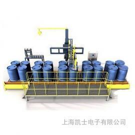 300L桶灌装机,树脂防爆灌装秤,自动液体灌装