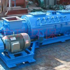 双轴粉尘加湿机系列|SJ卧式粉尘加湿机厂家供非标加湿机型号规格