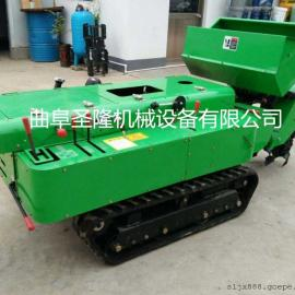履带式施肥回填一体机 小型园林机