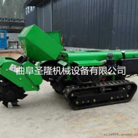 专业开沟施肥回填机 小型田园管理机