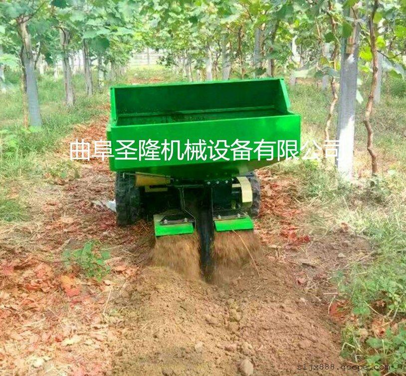 桃树园林施肥机 自动化果园施肥开沟机价格