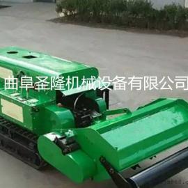 履带式园林施肥管理机 小型旋耕机