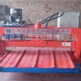 浩鑫热销900型墙面板压瓦机 质量保证