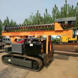 高速公路波形护栏打桩机小型 锤打桩机建筑小型打桩机